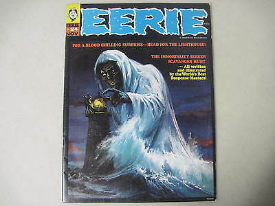 Eerie #24 Warren Magazine 1969 Vic Prezio Cover Reed Crandall Mike Royer