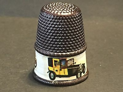 Settmacher Thimble Sewing Unused Antique Car Vintage Auto-Hubbard Collection