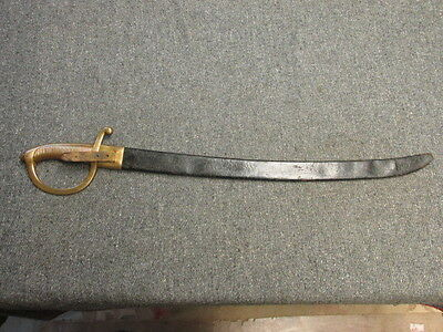 Antique European Briquet Style Sword-Crown Marking-French?