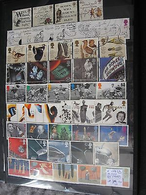 Gb Stamps. Complete 1996 10 Sets. Used.