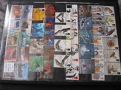Gb Stamps. Complete 1998 10 Sets. Used.