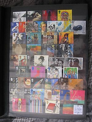 Gb Stamps. Complete 1999 13 Sets. Used.