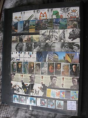 Gb Stamps. Complete 2006 12 Sets. Used.
