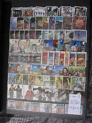 Gb Stamps. Complete 2007 13 Sets. Used.