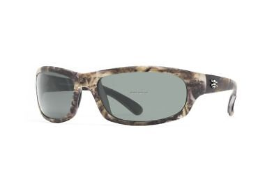 Calcutta Polarized Fishing Sunglasses Steelhead CAMO Frame Gray Lens
