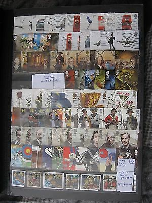 Gb Stamps. Nearly Complete 2009 11 Sets + Odds. Used.