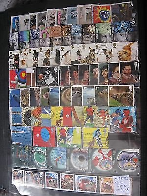 Gb Stamps. Most Of 2010 10 Sets . Used.
