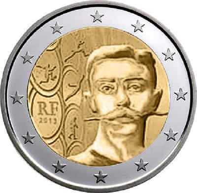 FRANCE  1  x  PIECE  COMMEMORATIVE  NEUVE COUBERTIN   2013  DISPONIBLE