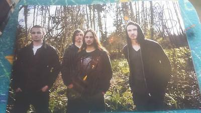 Gojira Metal Hand Signed 12 X 8 Photo Magma From Mars To Sirius The Link W Coa