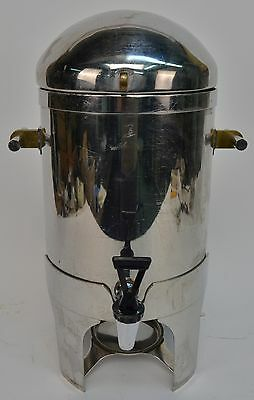 Stainless Steel Catering Coffee Urn Dispenser Sterno Chafer