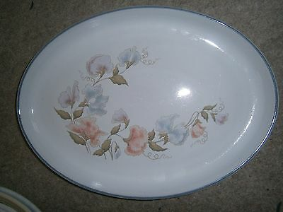 """Stylish Denby Encore Oval Steak Plate Excellent Barely Used Cond 12.75"""""""
