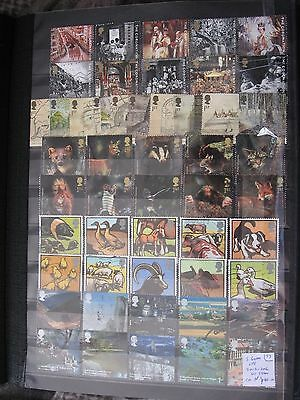 Gb Stamps.5 Greetings Sets. 2003-2006. Used.