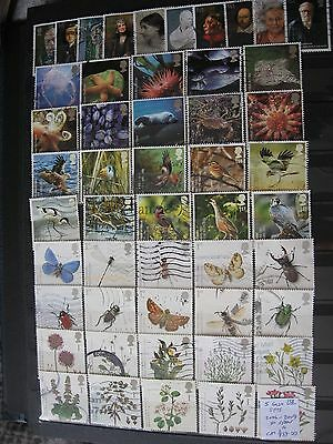 Gb Stamps.5 Greetings Sets. 2006-2009. Used.