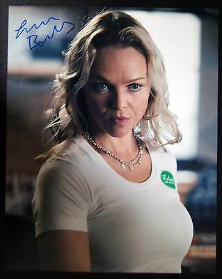 Autogramm 20x25cm LAUREN BOWLES (True Blood, Holly Cleary) *handsigniert* COA