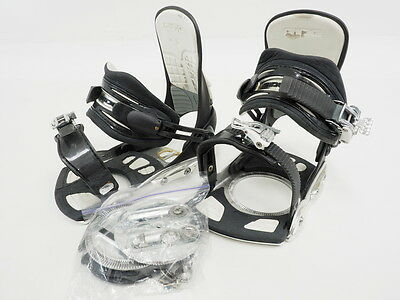 Ride SPi Snowboard Bindings With Convertible Toe Straps Size Medium