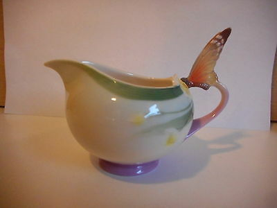 Franz Porcelain Butterfly Milk Cream Jug Xp1947