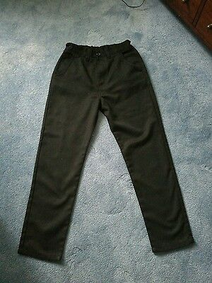 NEXT black trousers. Size 14 years. Ideal for school.