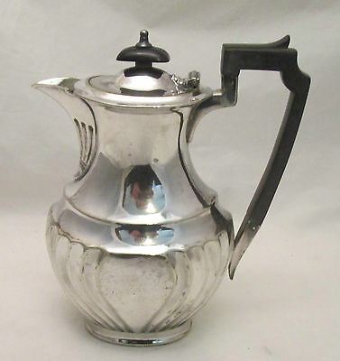 A Silver Plated Hot Water Jug / Coffee Pot - Atkins Bros