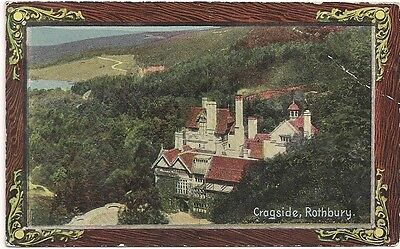 Old Postcard - Cragside - Rothbury - Northumberland - C.1910