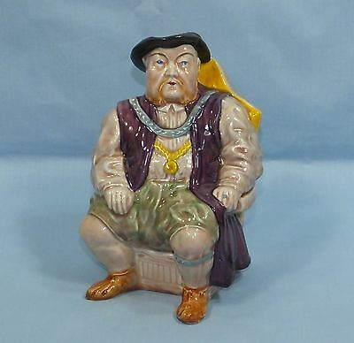 Melba Ware Henry Viii Vintage Staffordshire Pottery Character Jug