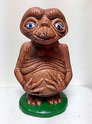 "1982 Vintage E.t. The Extra Terrestrial Ceramic Piggy Bank 6.5"" Tall New In Box"