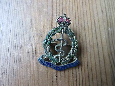 Ww2 Royal Army Medical Corps Enamel Badge