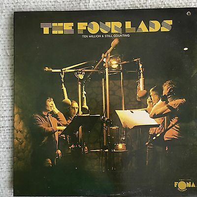 "Four Lads Ten Million & Still Counting 12"" PROMO Vinyl Record 1976 Excellent"