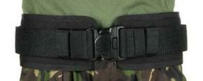 "BlackHawk 41BP02BK Black Belt Pad For Duty Belt With IVS Medium 36"" - 40"" Waist"