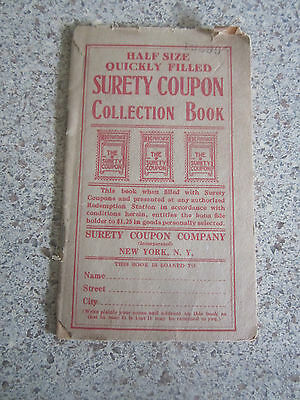 Surety Coupon Collection Book