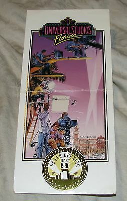 RARE June 7th 1990 Universal Studios Florida Grand Opening Premiere Party Ticket