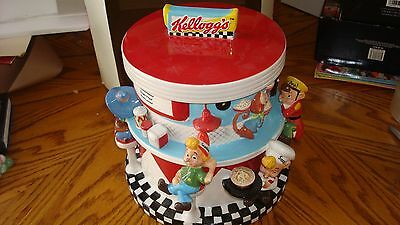 Kellogg's Limited Edition Cookie Jar 100th Anniversary 2006