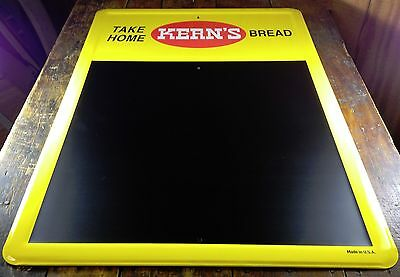 Take Home Kern's Bread Metal Advertising Sign With Chalkboard Surface