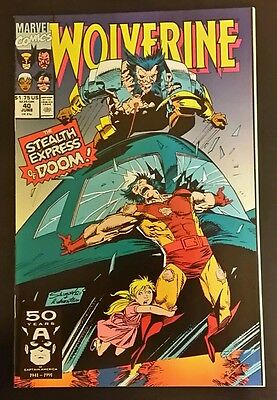 Wolverine #40 / (1988 1st Series) / The Stealth Express of Doom / 9.6 NM+