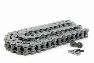 Drag Specialties 104 Links 530 O-Ring Drive Chain, Chrome  1222-0256