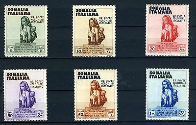 Somalia - 1934 - Colonial Exhibition Set of 6 - unmounted Mint