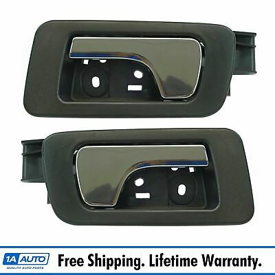 Inside Interior Door Handle Cashmere Chrome Rear Left Right Pair for Caddy STS