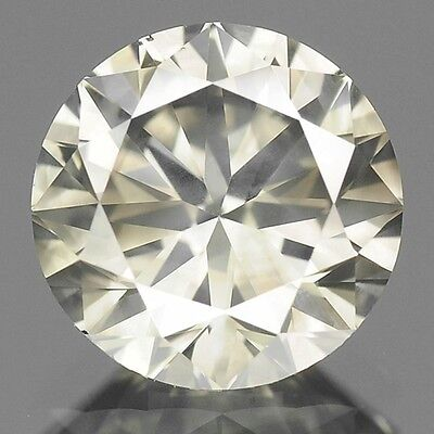 0.42 Cts WOW SPARKLING FANCY YELLOWISH GRAY NATURAL LOOSE DIAMONDS SI1