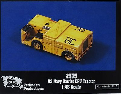 VERLINDEN PRODUCTIONS #2535 US Navy Carrier EPU Tractor in 1:48