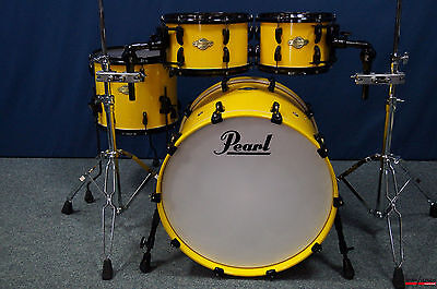 """Pearl MMP Masters Premium Maple Set in ''Canary Yellow Sparkle'' - 22,10,12,14"""""""