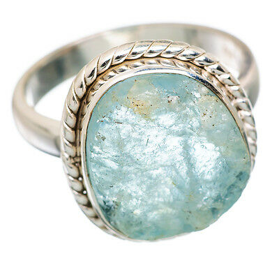 Aquamarine 925 Sterling Silver Ring Size 7 Ana Co Jewelry R842061