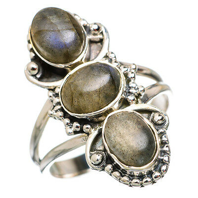 Labradorite 925 Sterling Silver Ring Size 9 Ana Co Jewelry R843661