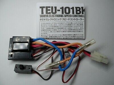 Vintage New Tamiya TEU-101BK ESC/Electronic Speed Controller (Removed From XB)