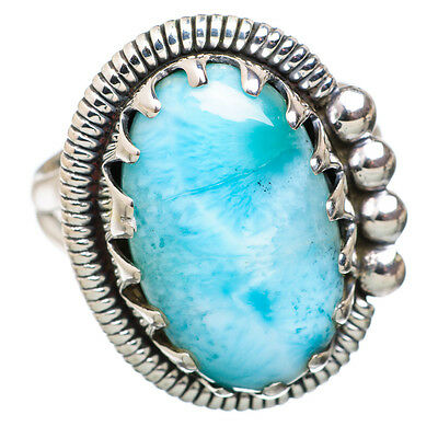 Larimar 925 Sterling Silver Ring Size 8 Ana Co Jewelry R822528