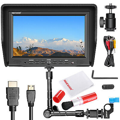 "Neewer NW-708M Field Monitor +11"" Magic Arm with Clamp for Canon Nikon Sony"