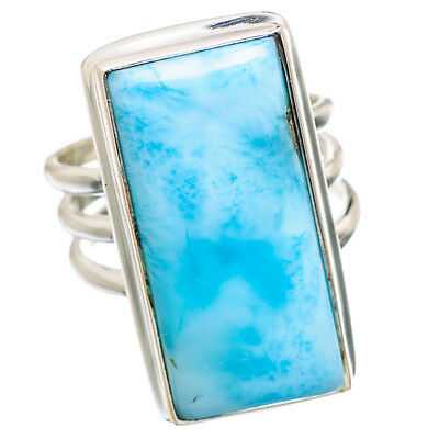 Larimar 925 Sterling Silver Ring Size 6 Ana Co Jewelry R838942