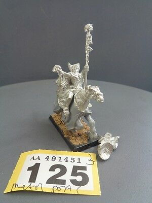Warhammer Age of Sigmar Vampire Counts Metal OOP Necrarch Lord on Horse 125