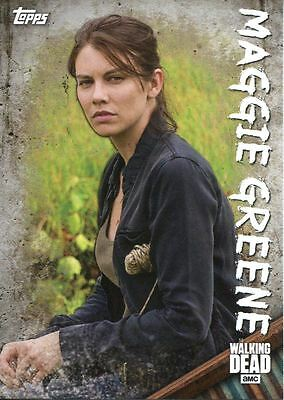 Walking Dead Season 6 Character Chase Card C-6 Maggie Greene