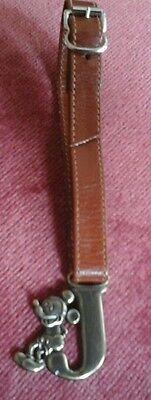Pocket watch fob, American style strap with mickey mouse