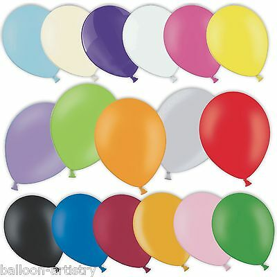 "50 Latex Premium 11"" Balloons Birthday Wedding Party Supplies Decorations"