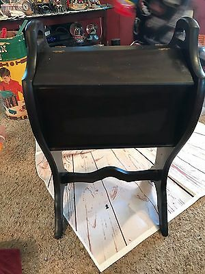Antique Vintage  WOOD  SEWING STAND